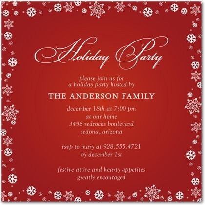 Doc600428 Free Christmas Party Templates Invitations Free – Free Templates Christmas Invitations