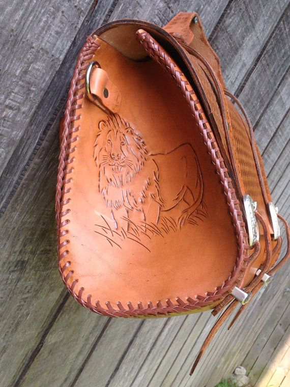 Leather carry all weekender bag by Marcshandycraft on Etsy