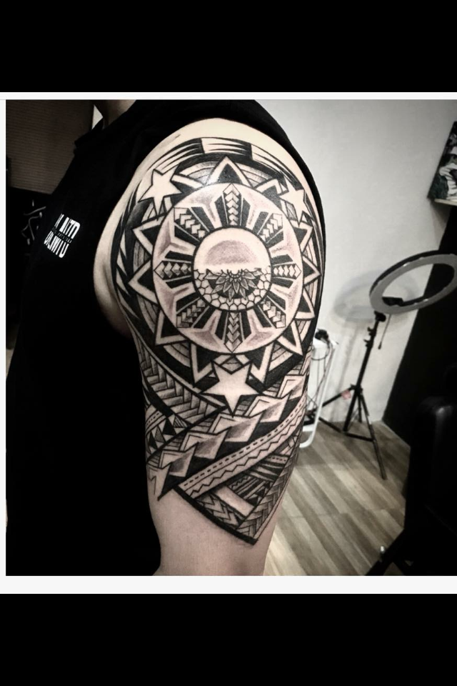Pin By Alver Dela Rosa On Tattoo Designs Filipino Tribal Tattoos