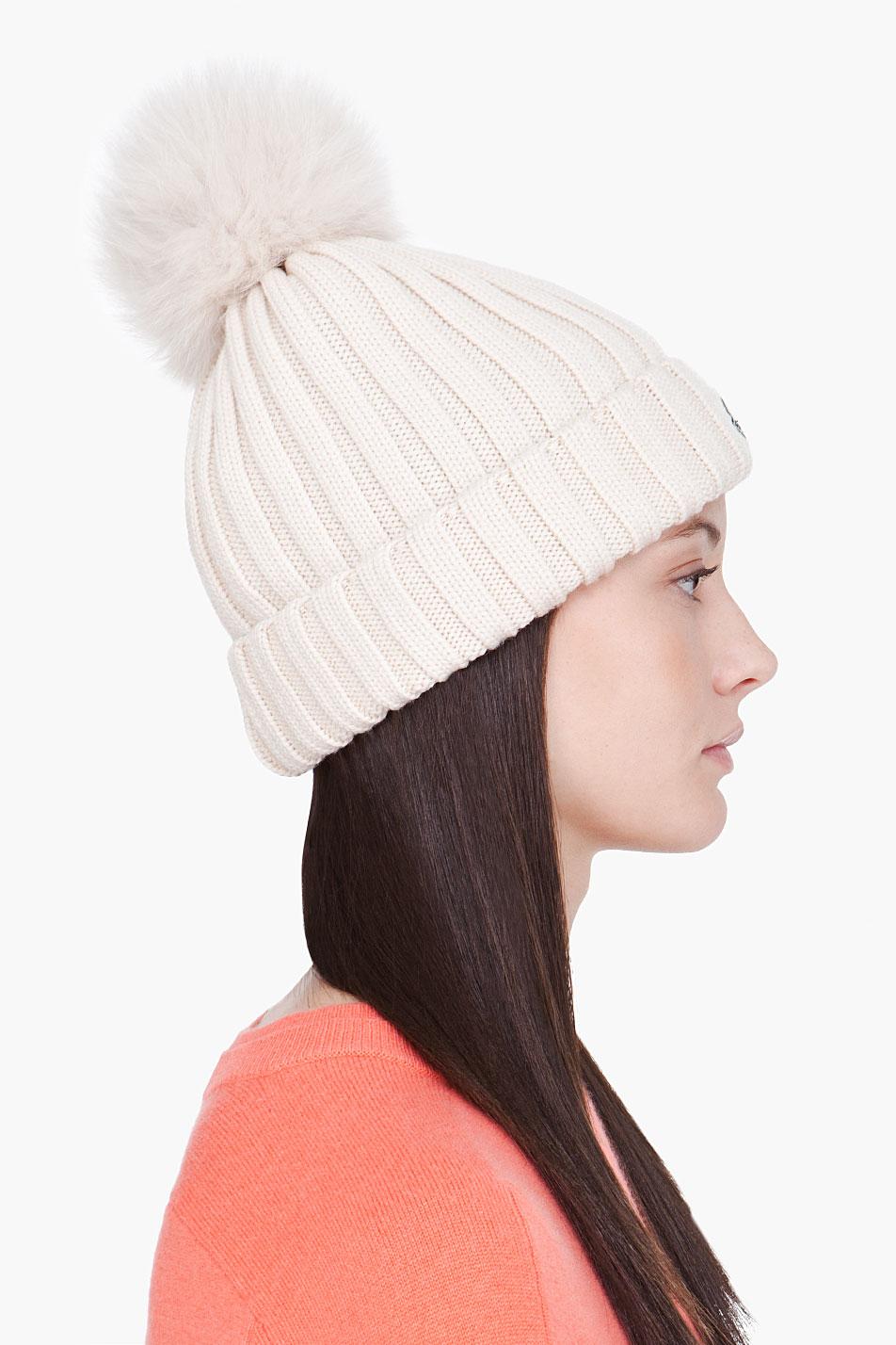 Moncler Sombreros & Gorras blancas