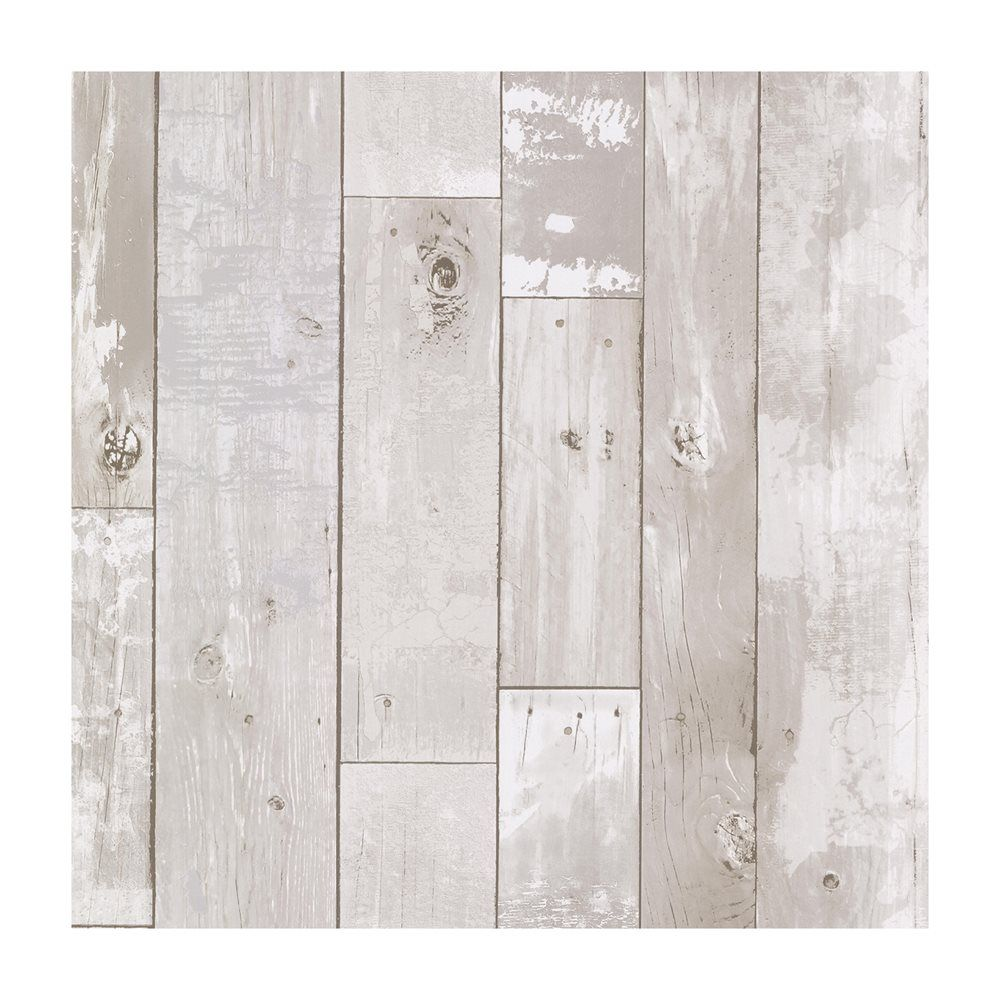Shop Provincial Wallcoverings 347 20131 Heim White Distressed Wood Panel  Wallpaper At Loweu0027s Canada.