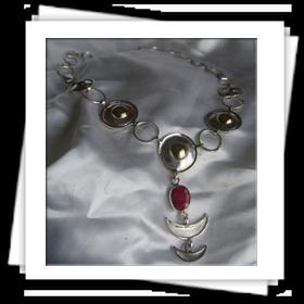 collana argento e ottone  Guido Costa