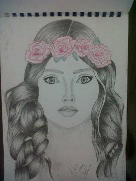 رسم نوران وليد Female Sketch Art Female