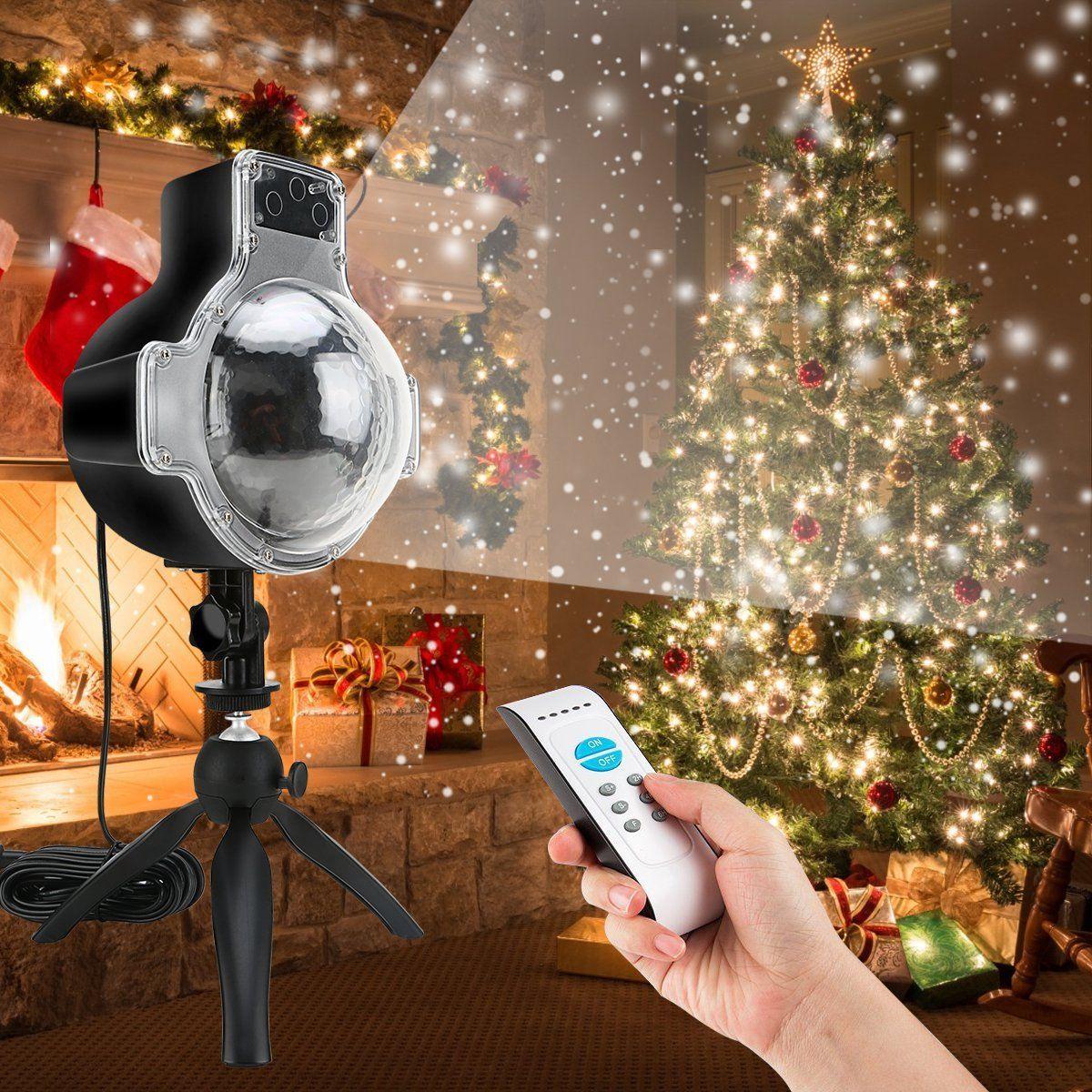 Amazon.com: Snowfall LED Lights Christmas Projector Lights ...