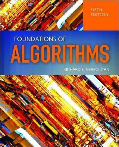Foundations Of Algorithms 5th Edition By Richard Neapolitan Isbn