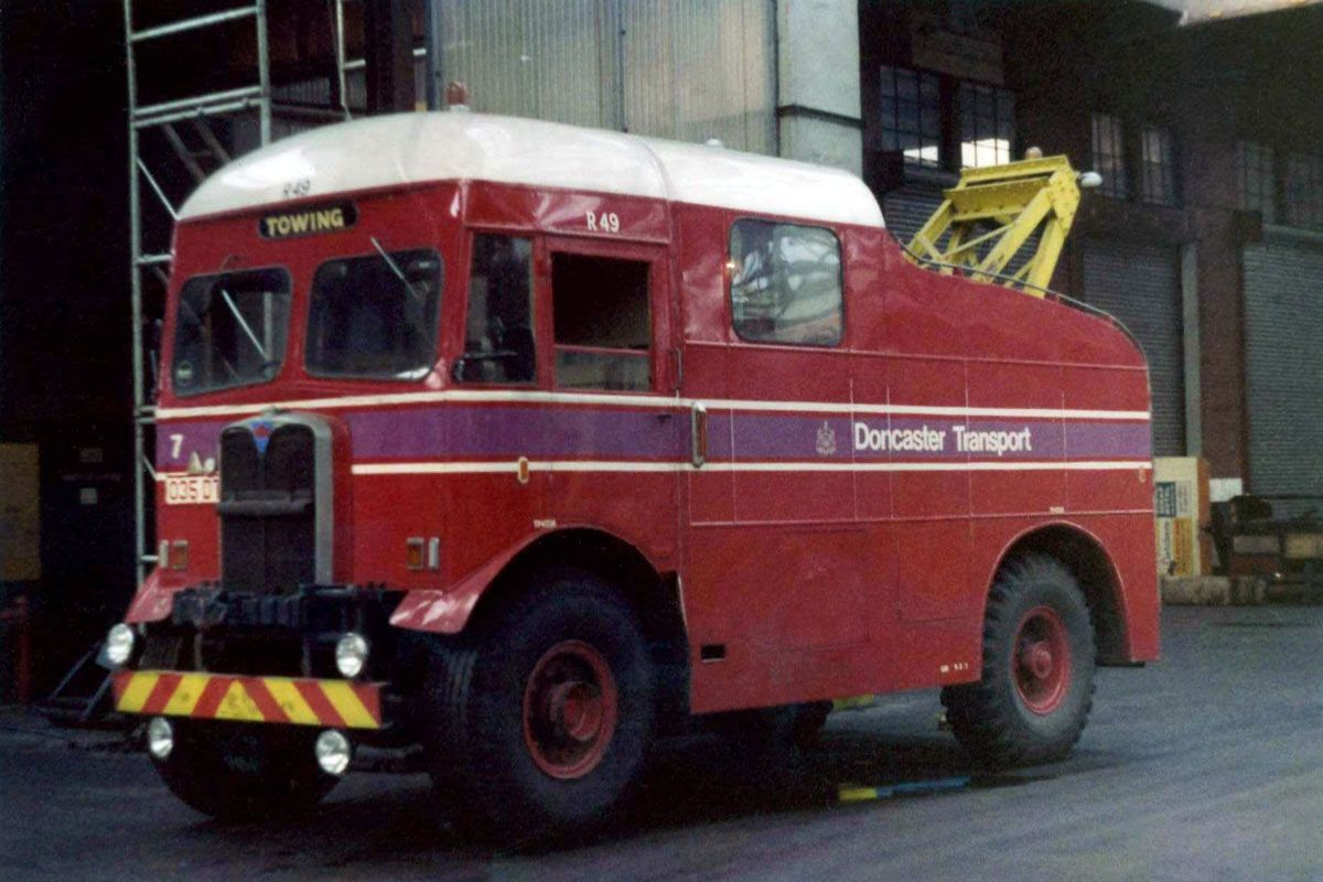 AEC - Matador Bus Companies (Special vehicles) - history, photos ...