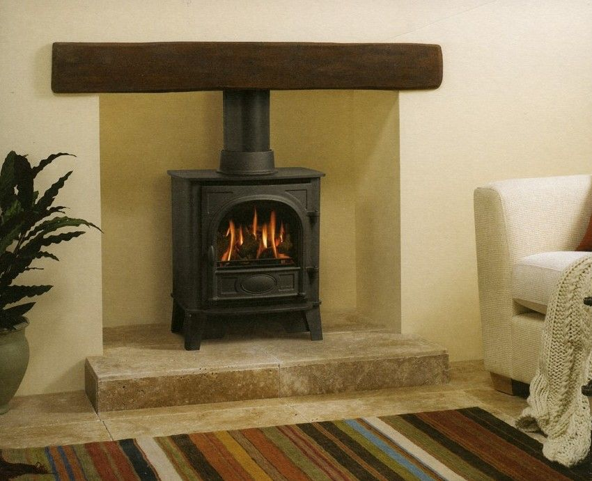 Plinth At Bottom Cream Rather Than Brick Fire Places