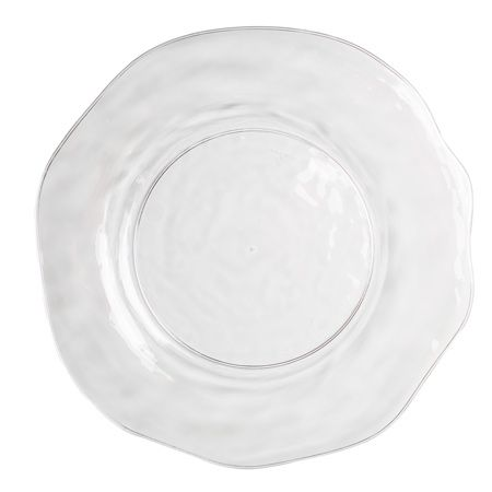 Artisan Clear Plastic Dinner Plates by smartyhadaparty.com  sc 1 st  Pinterest & Artisan Clear Plastic Dinner Plates by smartyhadaparty.com | dinner ...