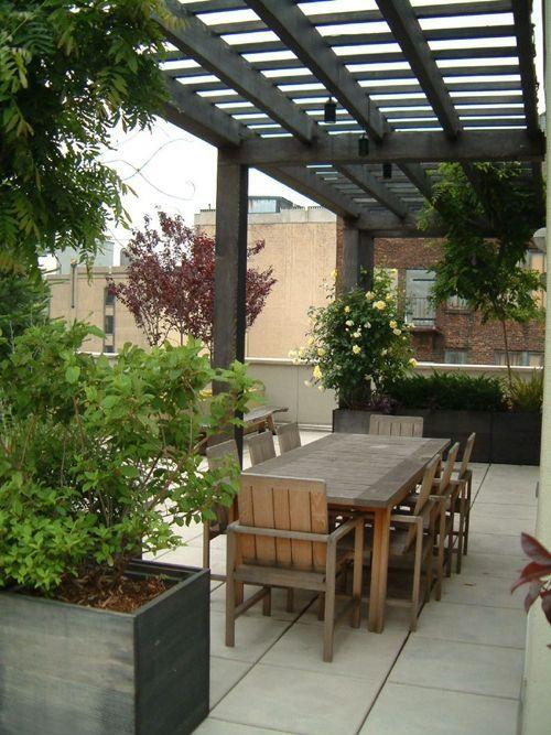 terrasse gestalten im rustikalen stil   Outdoor Spaces   Pinterest ...