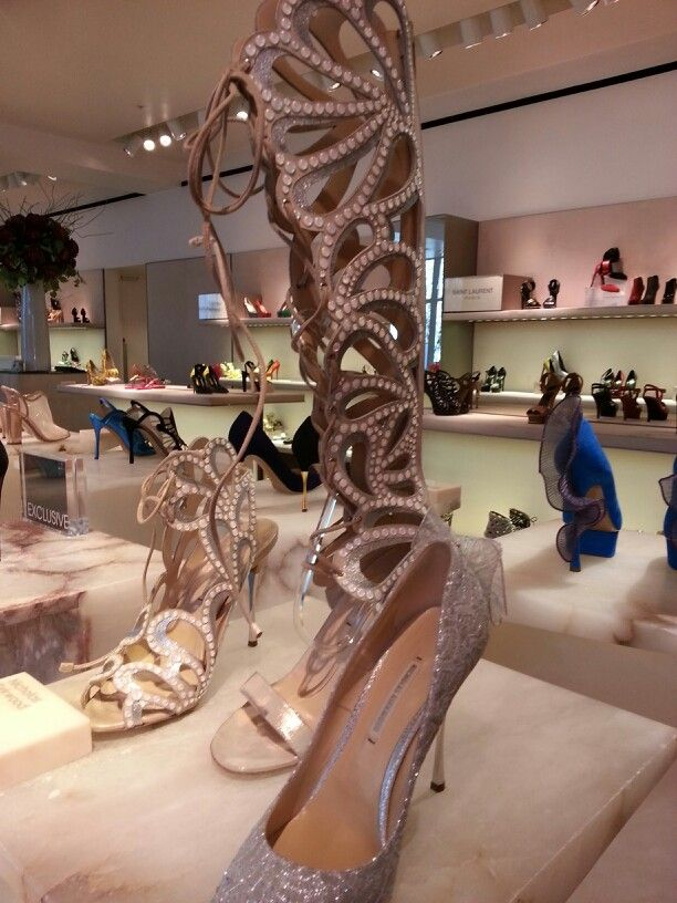 Selfridges shoe gallery