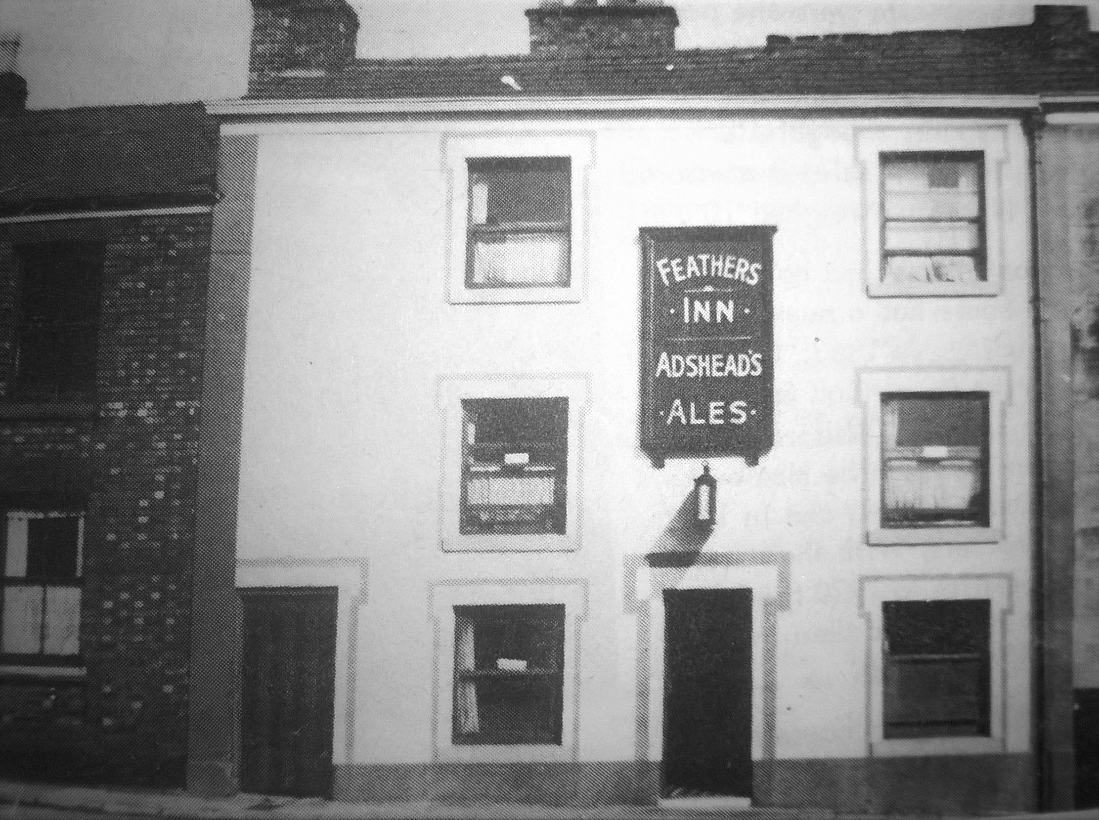 feathers inn brunswick street macclesfield before the police