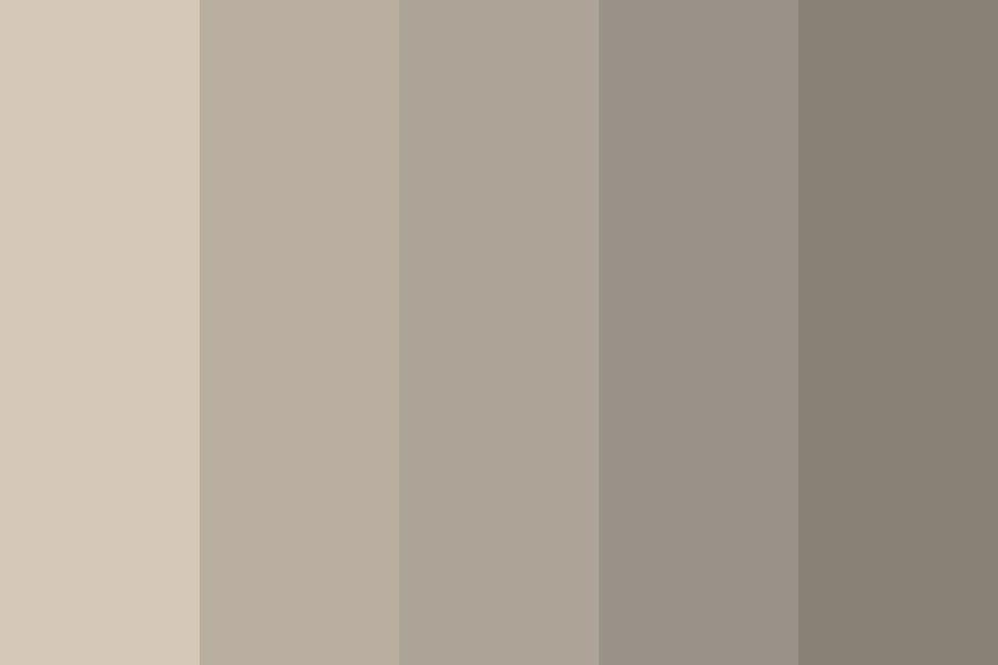 Neutral Beige Color Palette | Beige color palette, Grey color palette, Silver color palette