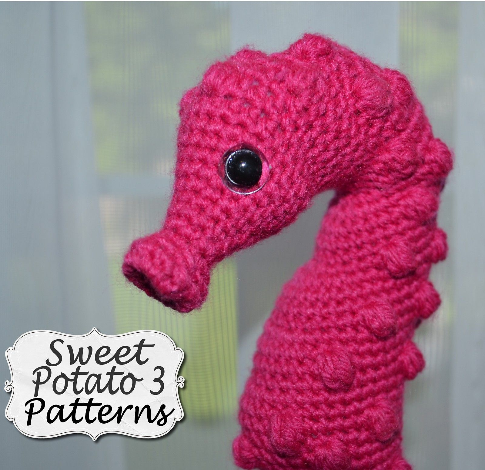 Pygmy seahorse stuffy pattern by christins from my sweet potato 3 this crochet pattern comes with complete instructions for this adorable pygmy bankloansurffo Image collections