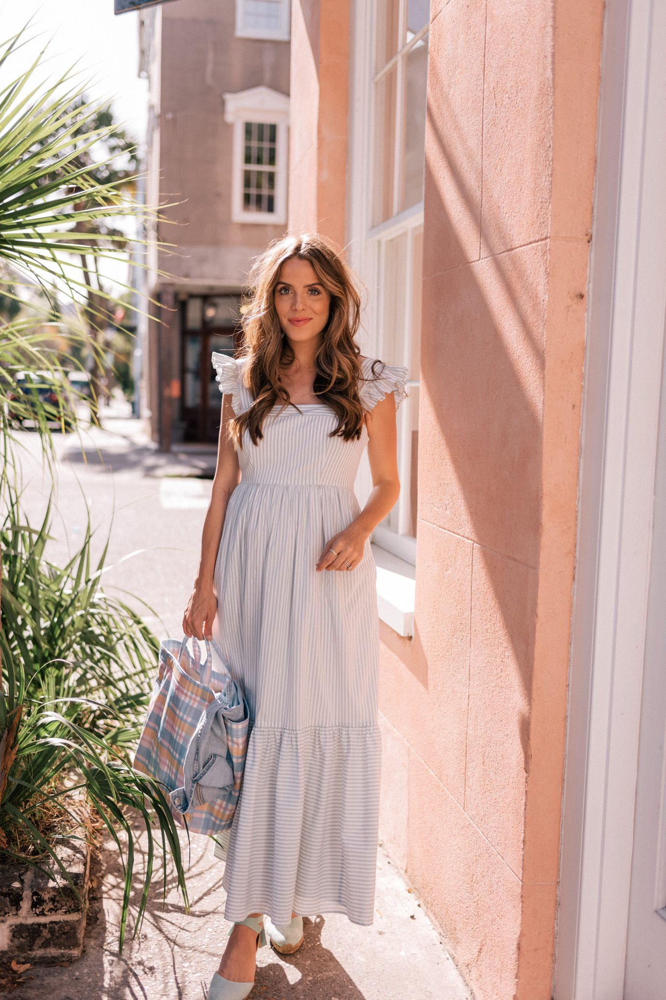 One Of My Favorite Pregnancy Friendly Maxi Dresses