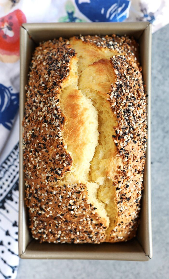 Everything Bagel BRIOCHE Bread | Recipe (With images ...