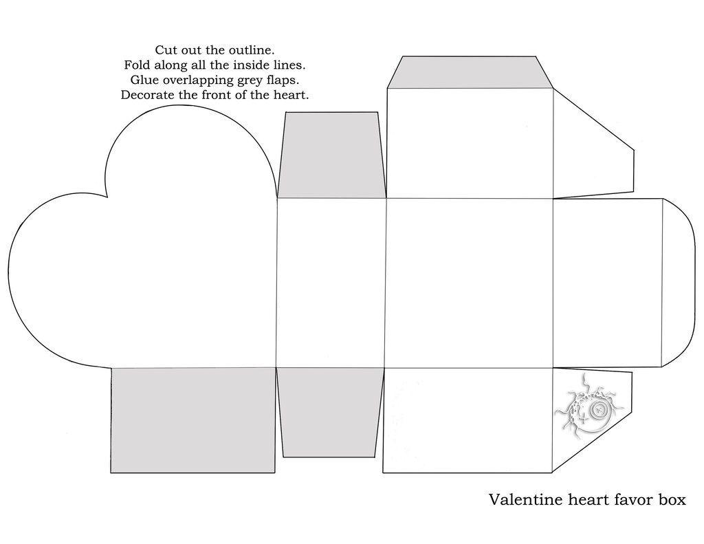 63df0b0c0 Heart Box Template by disdaindespair.deviantart.com on  deviantART ...