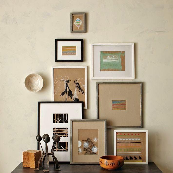 Guía para colgar y crear composiciones decorativas con cuadros ...