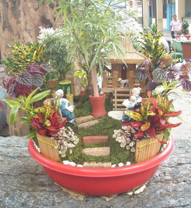 Pin By Sarah Pinkston On Garden Fairy Garden Containers Dish Garden Miniature Fairy Gardens