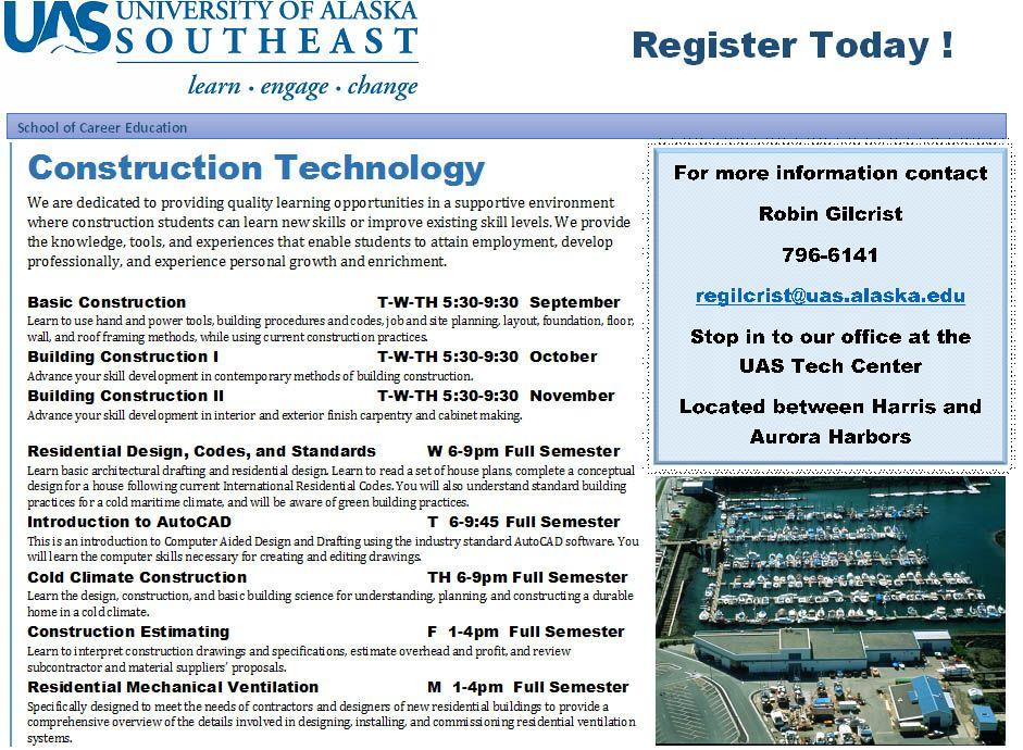 Construction Technology Occupational Endorsement
