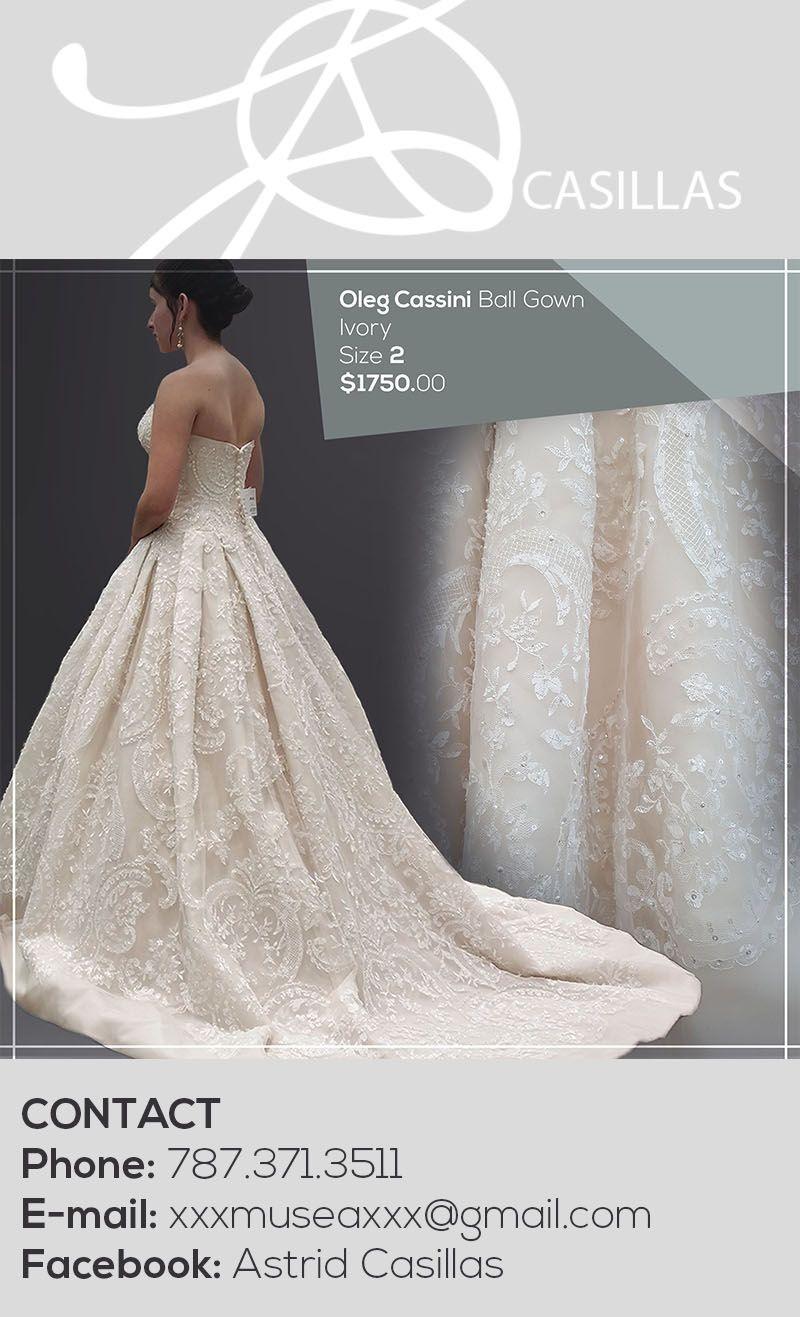 Oleg Cassini Cwg635 Wedding Dress New Size 2 900 Wedding Dresses Dresses Tulle Wedding [ 1317 x 800 Pixel ]