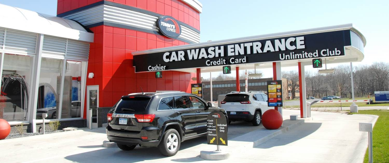 Express Tommy Site Models Car wash, Car wash systems
