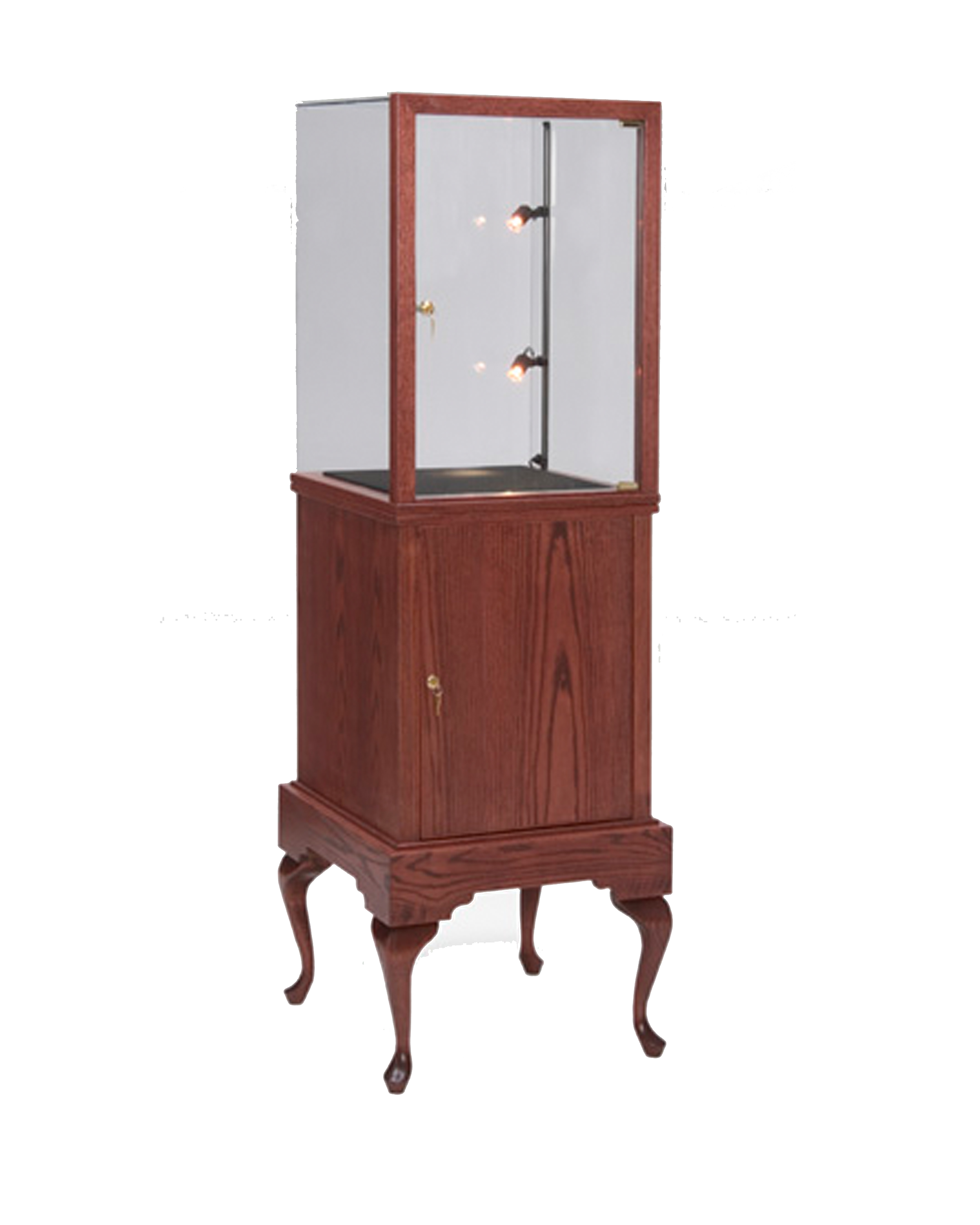 custom display furniture retail. Queen Anne Style Of Display Cases Are Designed To Match The Elegance Jewelry That It Is Displaying. Retail Stores Often Choose Custom Furniture