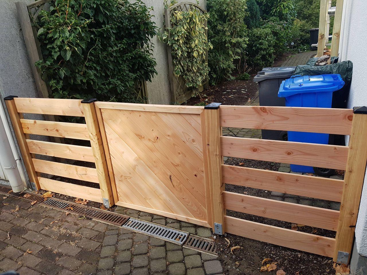 Gartenzaun Gartentor Holz Selber Bauen Gartenzaun Gartenzaun Selber Bauen