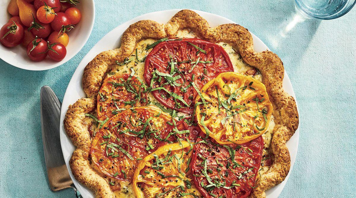 Parmesan Buttermilk Pie Crust Recipe Recipe Tomato Pie Recipes Food