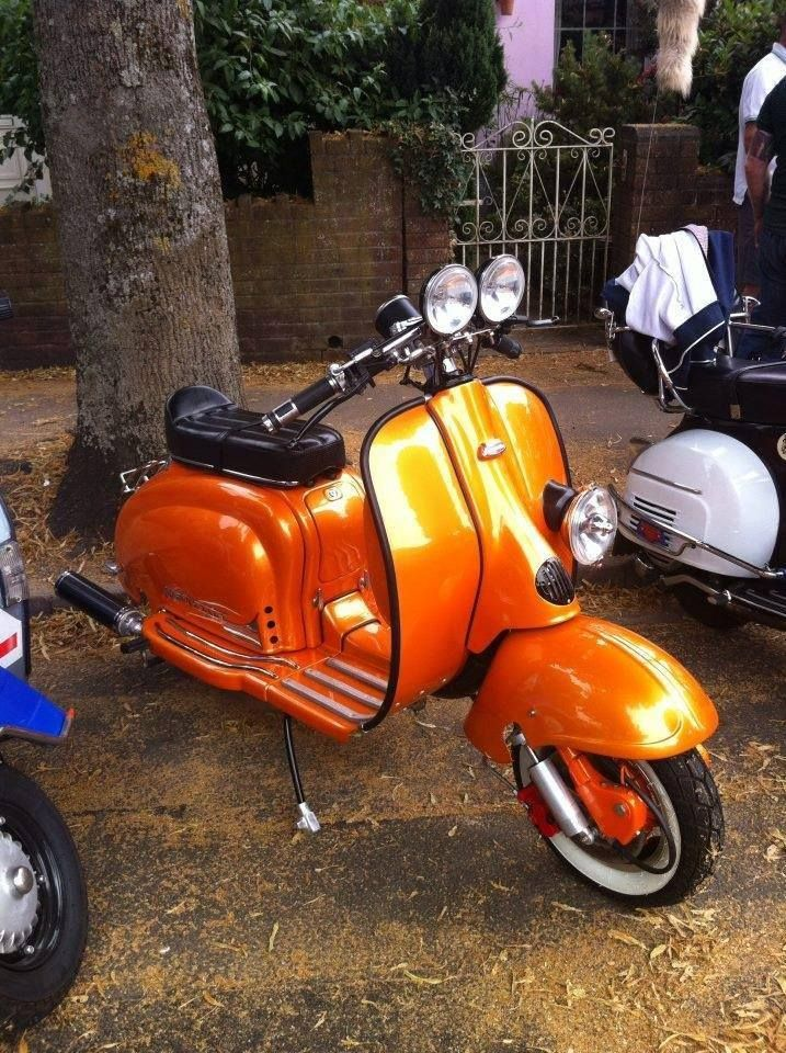 Pin By Thomas Beebe On Cool Motos Motor Scooters Lambretta