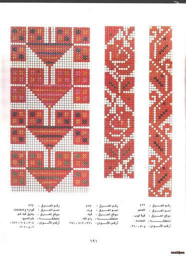 over 200 Palestinian Cross Stitch Patterns - Majida Awashreh - Picasa Web Albums