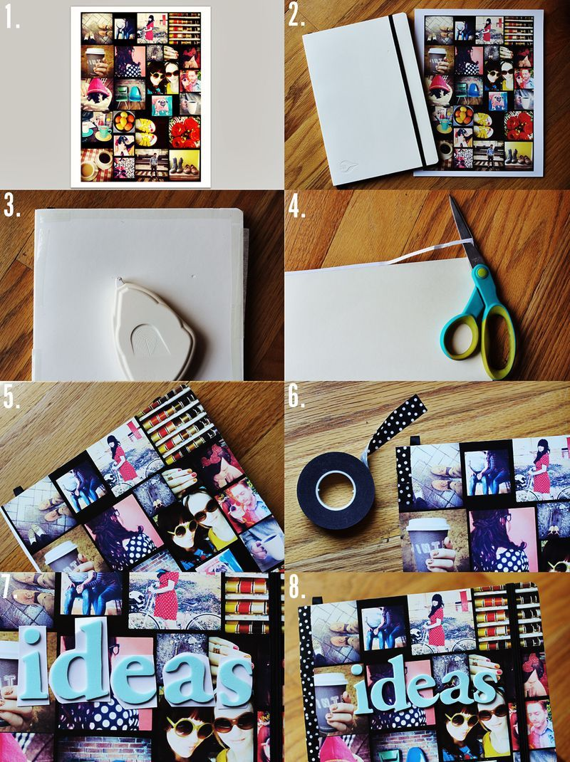 Instagram journal how-to from a beautiful mess