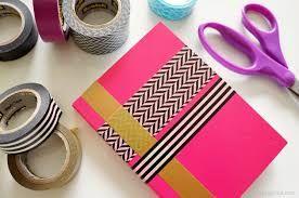 Cómo decorar un cuaderno. How to decorate a notebook. Ideas. Tips. Washi tape.
