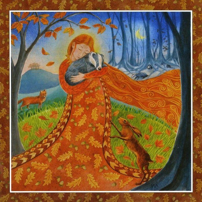 Goddess Festival - Autumn Equinox #autumnalequinox Goddess Festival - Autumn Equinox ~ Wendy Andrew #autumnalequinox