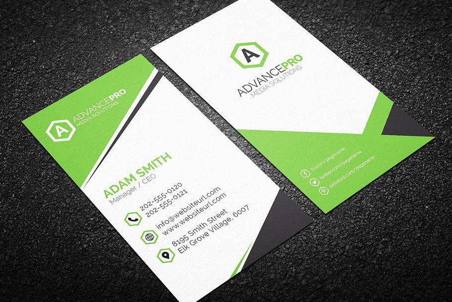 Modern Business Card Template Business Modern Card Templates Modern Business Cards Business Card Template Templates