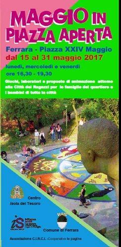 Maggio in Piazza Aperta allAcquedotto: giochi laboratori e animazioni per famiglie e bambini di tutta la città