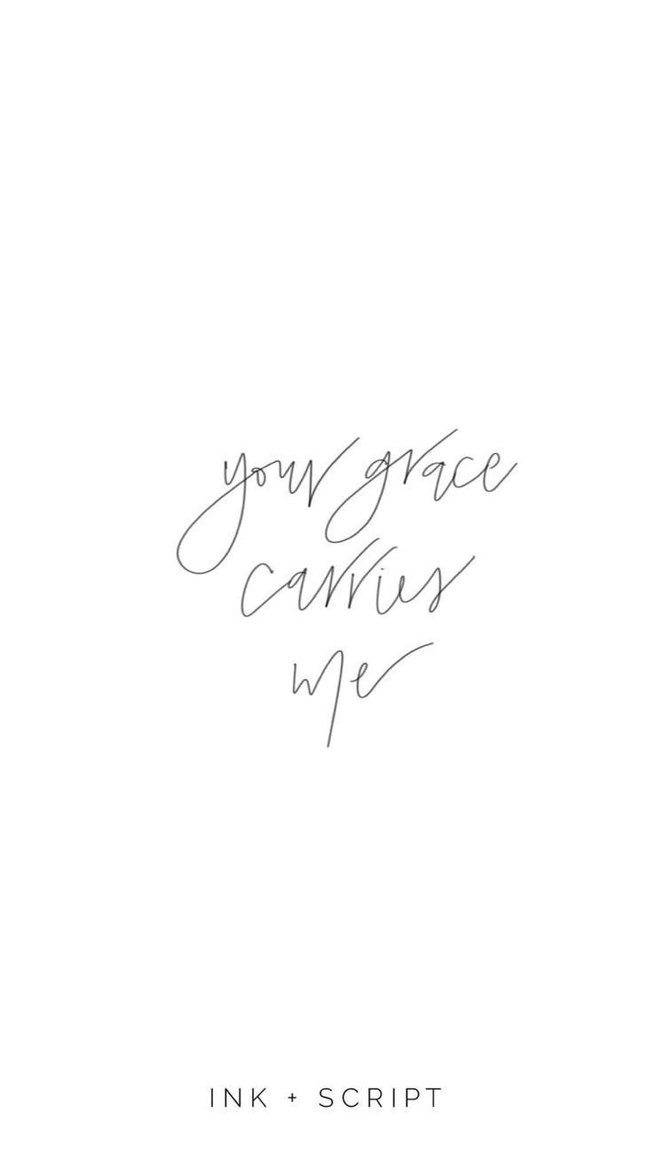 """""""Your grace carries me"""" inspiring words, inspirational Quotes, Quotes to live by, encouraging quotes, Bible quotes, Bible verses, Christian quotes, hand lettering, grace quotes"""