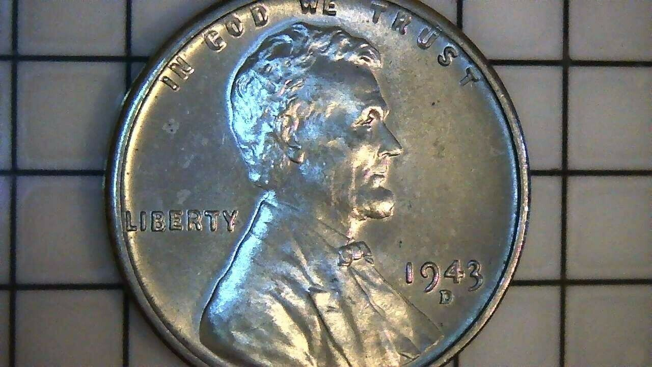 1943 D Lincoln Steel Wheat Cent Penny Nice Au Condition In 2020 Penny Ebay Nice