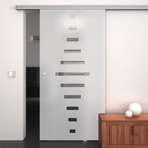 Glas-Schiebetüren mit Satinierung Wohnzimmer Pinterest Sliding - schiebetüren für badezimmer