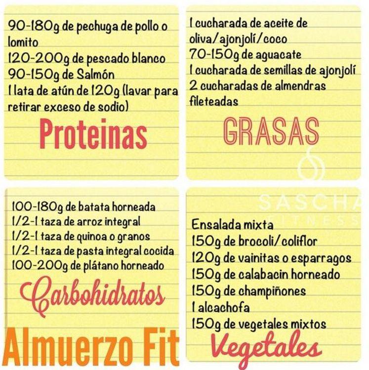 Almuerzo Fit Sascha Fitness Almuerzos Saludables