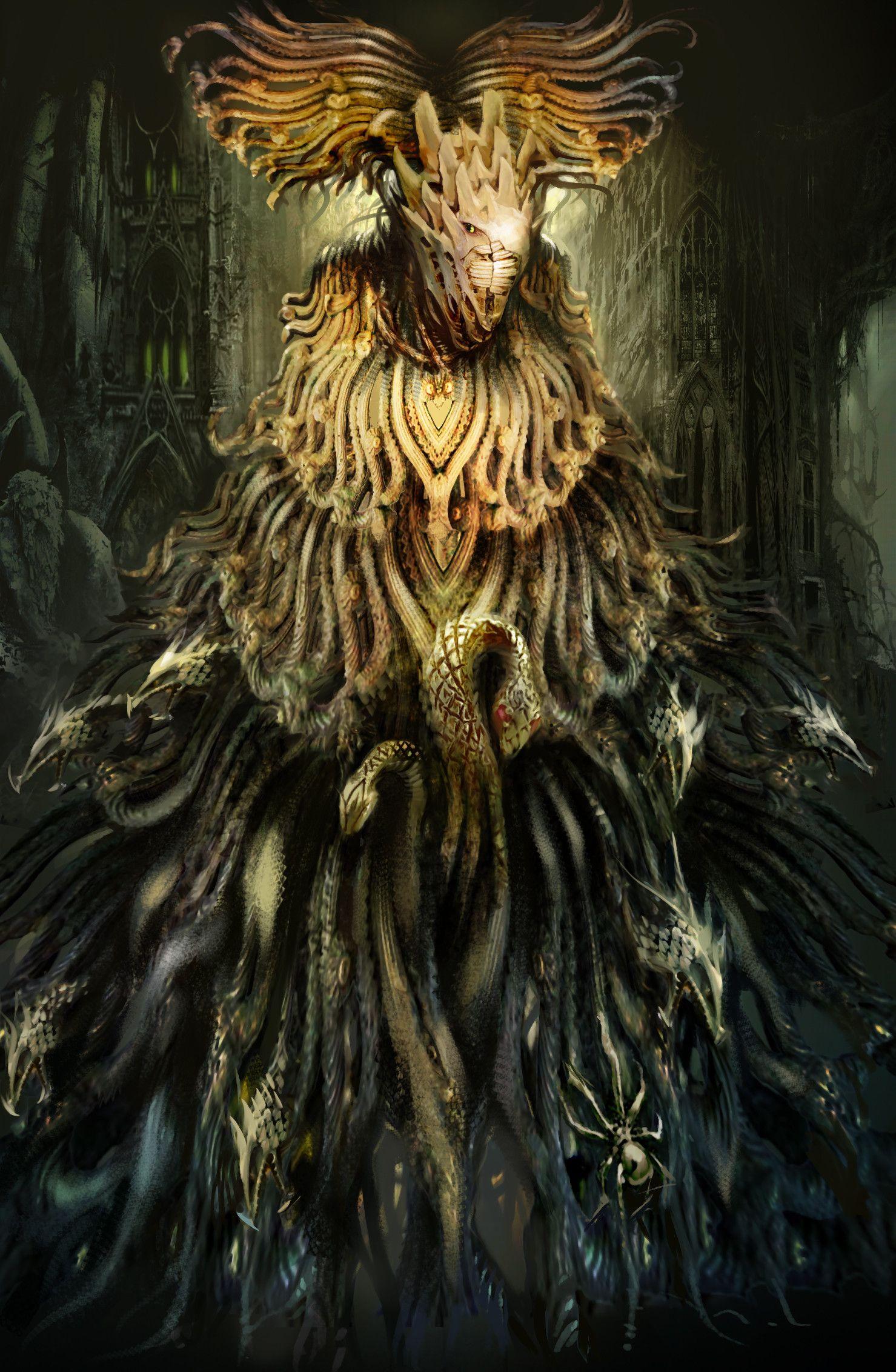 Artstation Guild Wars Abbadon Daniel Dociu Fantasy Art Creature Artwork Art