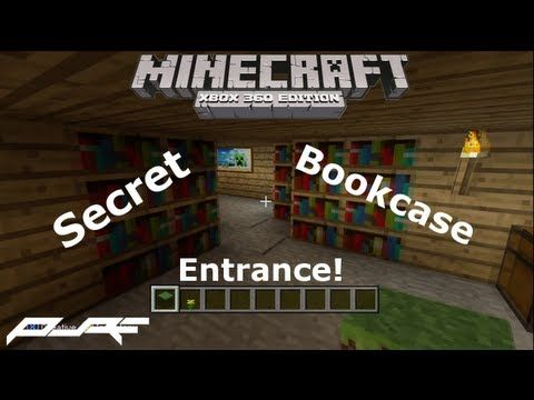 How to Make a Secret Bookcase Entrance in Minecraft   Xbox    YouTubeHow to Make a Secret Bookcase Entrance in Minecraft   Xbox  . Cool Secret Room Ideas Minecraft. Home Design Ideas