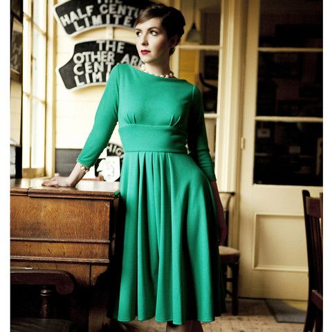 Katie 1940's Style Dress – Dollydagger Boutique