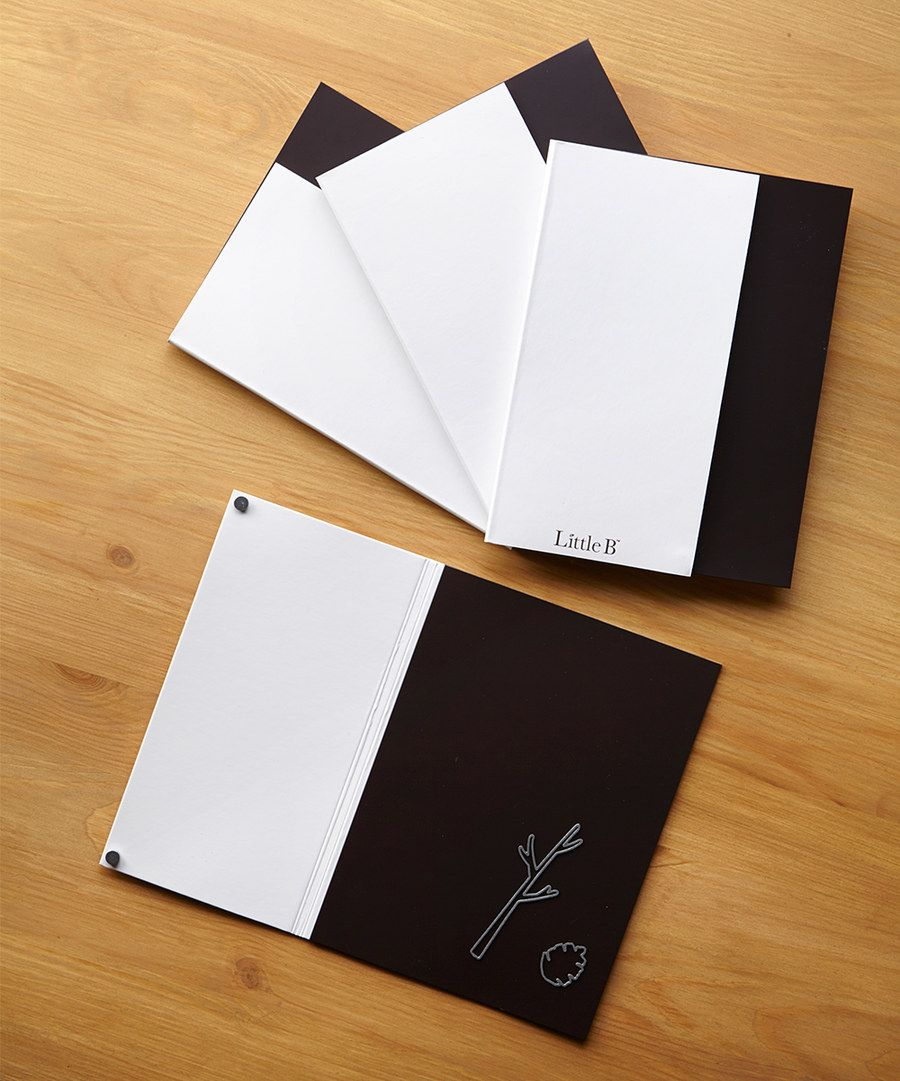 Look At This Little B Magnetic Storage Binder Set On