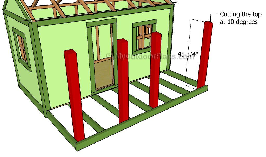 Playhouse Roof Plans Play houses, Build a playhouse