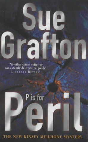 P is for Peril (Kinsey Millhone mysteries) by Sue Grafton, http://www.amazon.co.uk/dp/0330371967/ref=cm_sw_r_pi_dp_A66Btb0SGPDM0