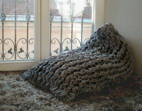 Enjoyable Grey Bean Bag Chair Foter Breisels Bean Bag Chair Ncnpc Chair Design For Home Ncnpcorg