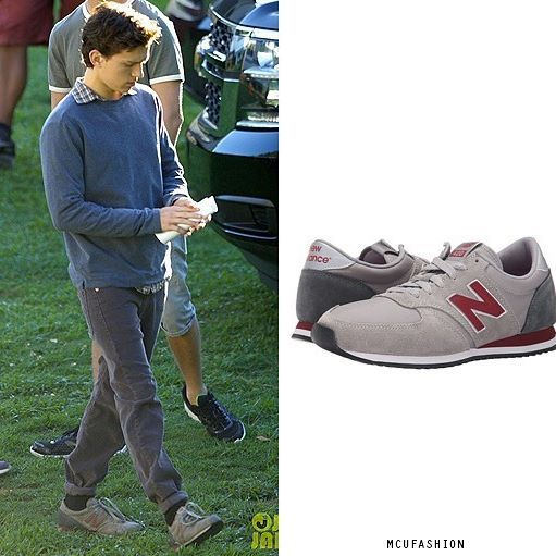 WHO: Tom Holland as Peter Parker WHAT: New Balance Classic
