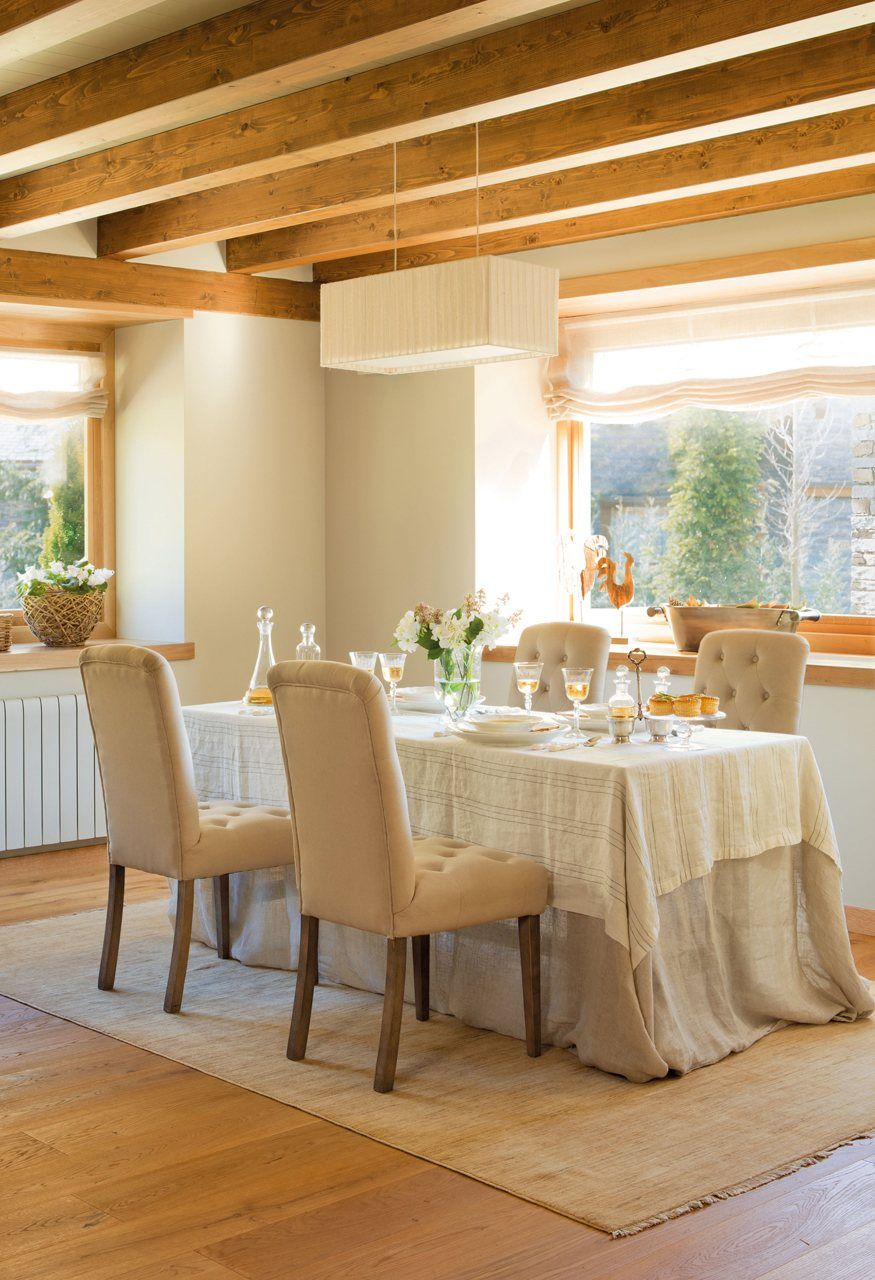 Detalles para lograr una casa m s elegante comedor for Mesa de comedor elegante lamentable