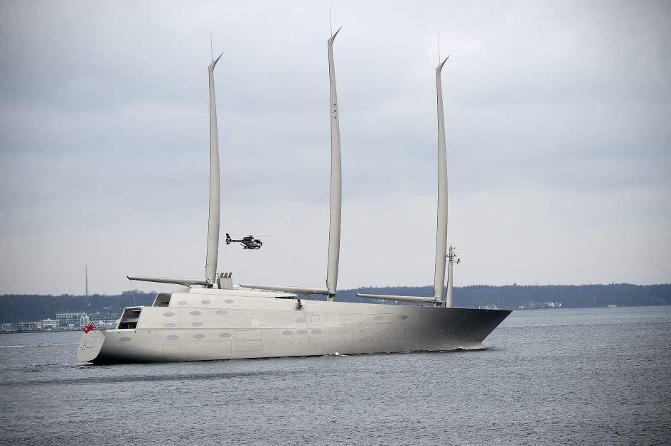 El velero más grande del mundo - Siete de los buques más grandes del mundo - 20minutos.es