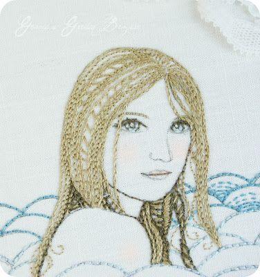 Gracie's Garden Bazaar: embroidery